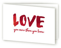 Love You More than You Know