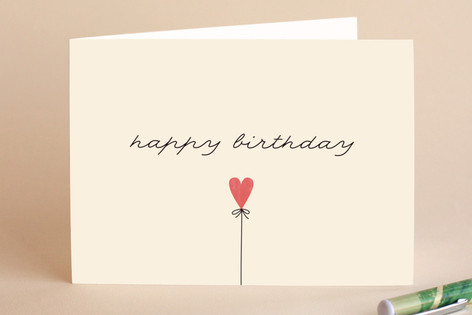 Birthday Heart Greeting Cards