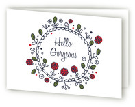 Hello Gorgeous by William Reid Stationery