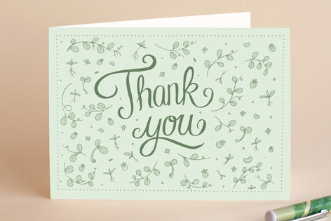 Spring Thank You Greeting Cards