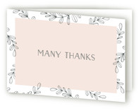 Audrey Collection Thank You Card