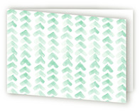 Chevron Mint by Vanessa Rossi Design