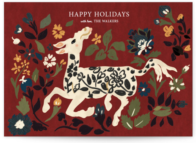 Silk Animal Carpet The Met Holiday Cards