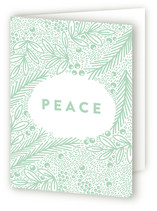 peaceful holiday florals