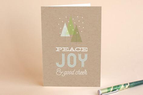 Three Pines Holiday Cards