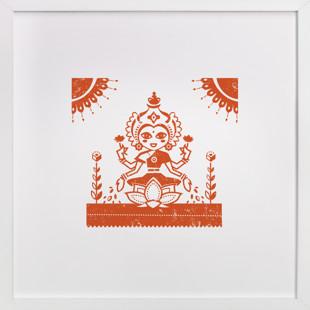 Lakshmi Self-Launch Children's Art Print