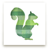 Green Party Squirrel by Jeff Preuss