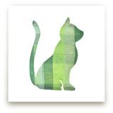 Green Party Kitty by Jeff Preuss