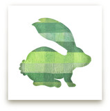 Green Party Bunny by Jeff Preuss