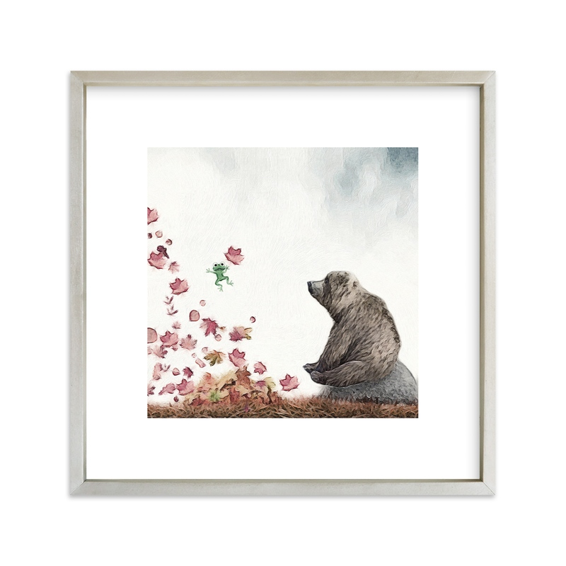 """Might as well Jump!"" - Art Print by Maja Cunningham in beautiful frame options and a variety of sizes."