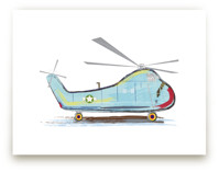 Helicopter Aircraft by Rebecca Marchese