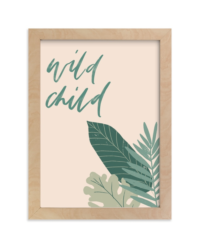 """Wild Child Plants"" - Art Print by Amanda Houston in beautiful frame options and a variety of sizes."