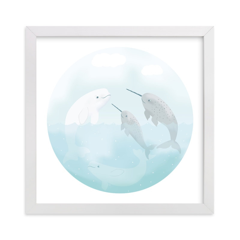 """Friendship"" - Art Print by Jennifer Holbrook in beautiful frame options and a variety of sizes."