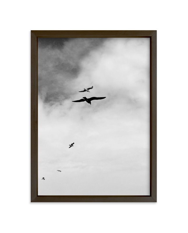 """""""Soaring Trio 3"""" - Art Print by Janelle Wourms in beautiful frame options and a variety of sizes."""