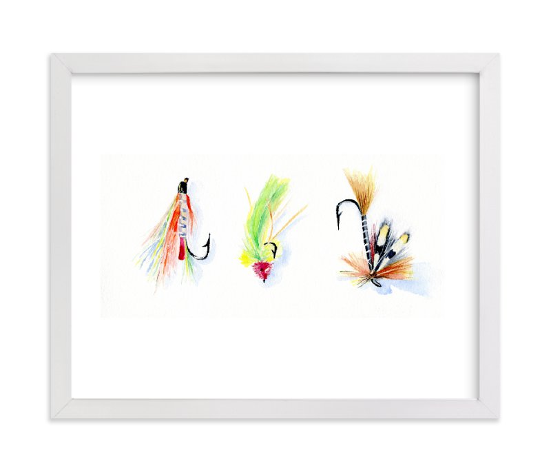 """""""On the Fly 2"""" - Art Print by Stacey Brod in beautiful frame options and a variety of sizes."""