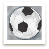Soccer Ball 1 by Rebecca Marchese