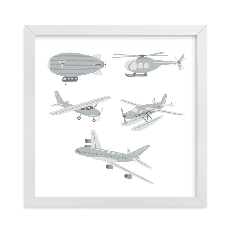 """""""Up in the Sky"""" - Art Print by Jennifer Holbrook in beautiful frame options and a variety of sizes."""