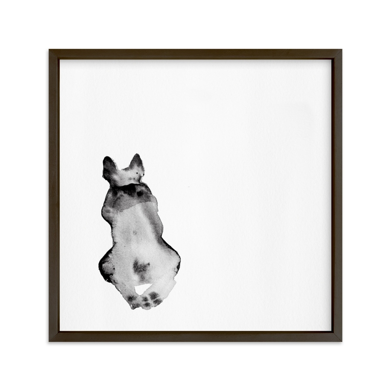 """Waiting Ted "" - Art Print by jinseikou in beautiful frame options and a variety of sizes."