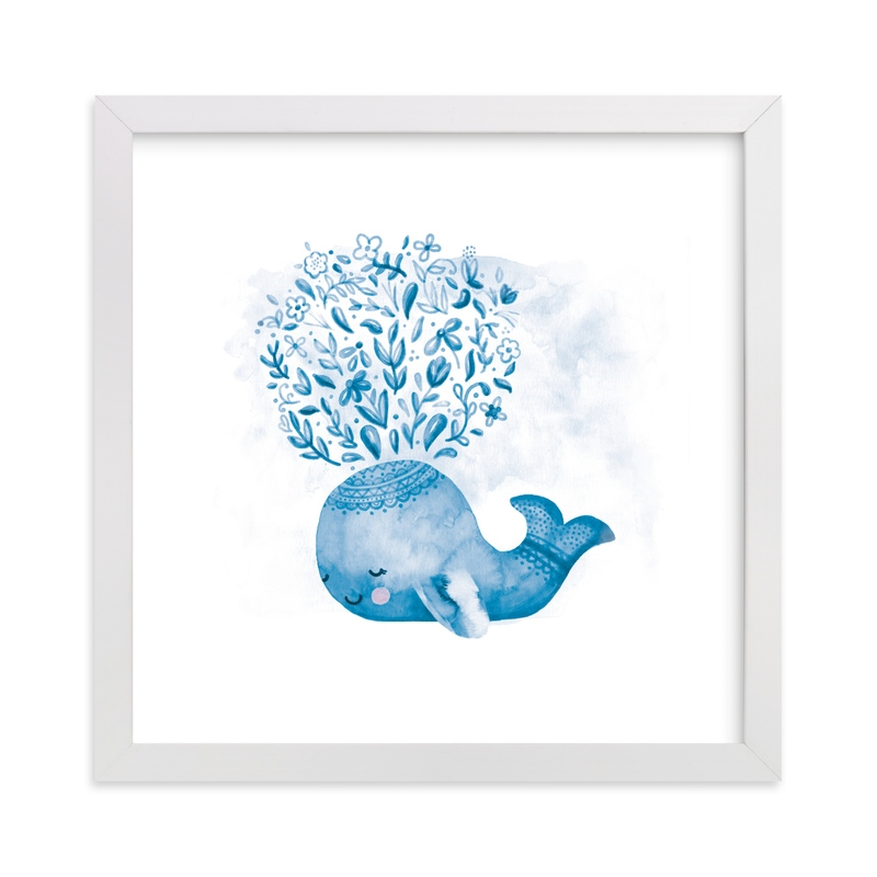 """""""Whaley Cute"""" - Art Print by Noonday Design in beautiful frame options and a variety of sizes."""