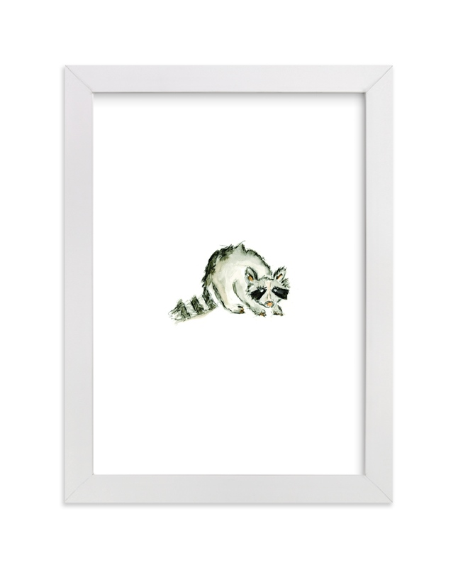 """""""Conley Coon"""" - Art Print by Mande Calhoun in beautiful frame options and a variety of sizes."""