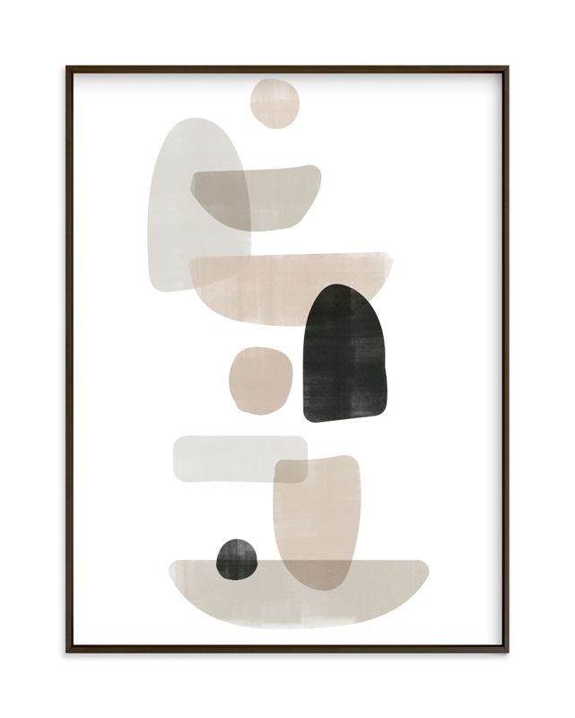 """""""balance no.1"""" - Art Print by Lindsay Stetson Thompson in beautiful frame options and a variety of sizes."""