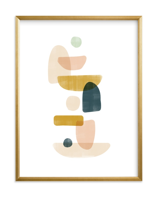 balance no.1 Self-Launch Children's Art Print