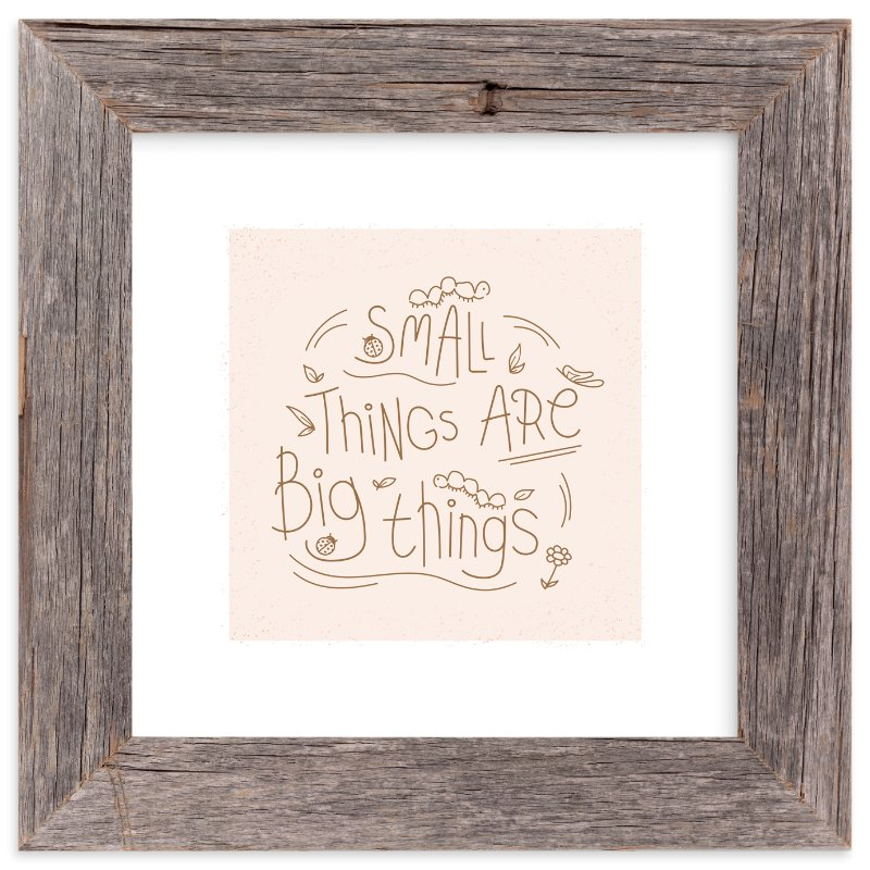 """""""Small Things"""" - Art Print by Christina Novak in beautiful frame options and a variety of sizes."""