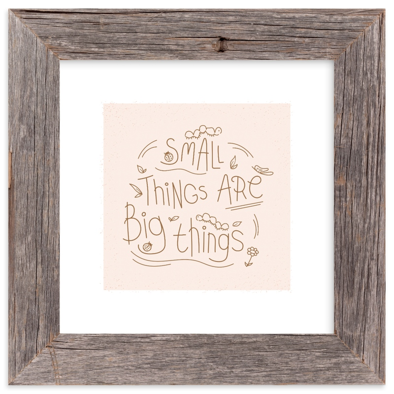 """Small Things"" - Art Print by Christina Novak in beautiful frame options and a variety of sizes."