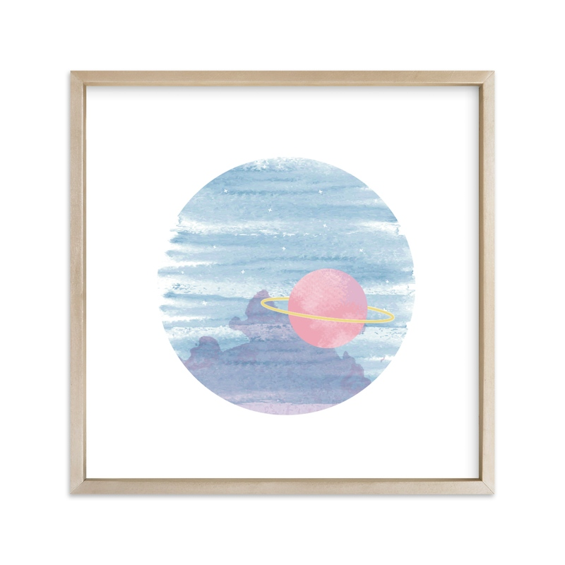 """""""And Beyond"""" - Art Print by Tennie and Co. in beautiful frame options and a variety of sizes."""