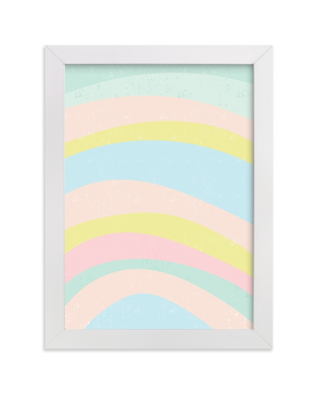 """""""dreamy rainbow"""" - Art Print by Angela Thompson in beautiful frame options and a variety of sizes."""