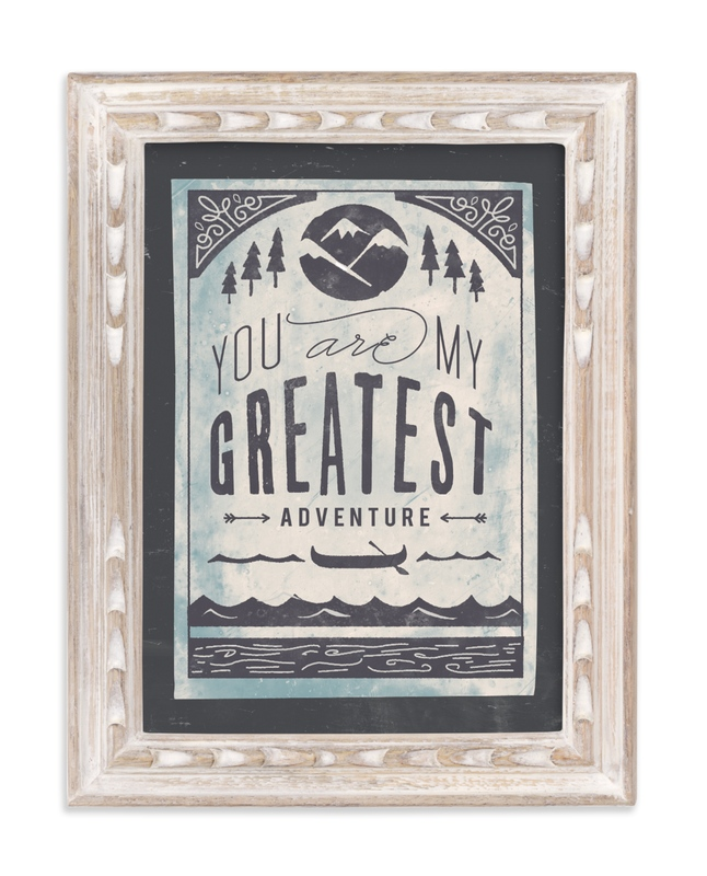 """My Greatest Adventure"" - Art Print by Lori Wemple in beautiful frame options and a variety of sizes."