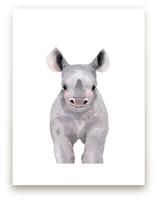 Baby Animal Rhinoceros