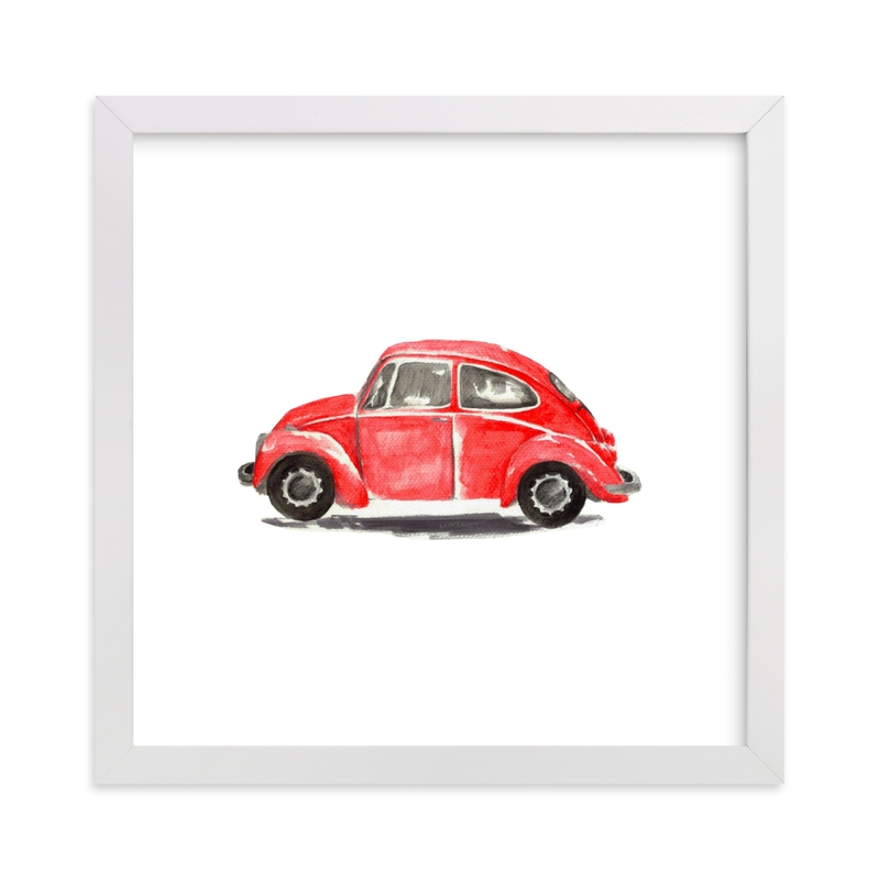 """""""Lisa"""" - Art Print by Roxanne Fay in beautiful frame options and a variety of sizes."""