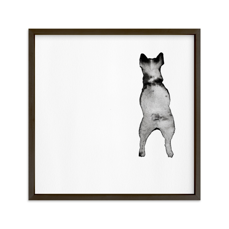 """""""Fixating Ted """" - Art Print by jinseikou in beautiful frame options and a variety of sizes."""