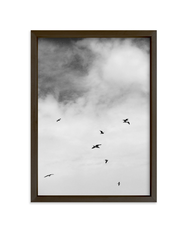 """""""Soaring Trio 1"""" - Art Print by Janelle Wourms in beautiful frame options and a variety of sizes."""