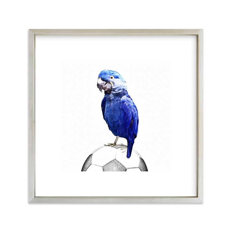 """""""The Coach"""" - Art Print by Maja Cunningham in beautiful frame options and a variety of sizes."""