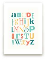 Mix it up Alphabet by Stephanie Strouse