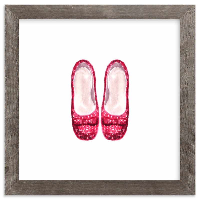 """""""There's No Place..."""" - Art Print by Olive and Me Studios in beautiful frame options and a variety of sizes."""