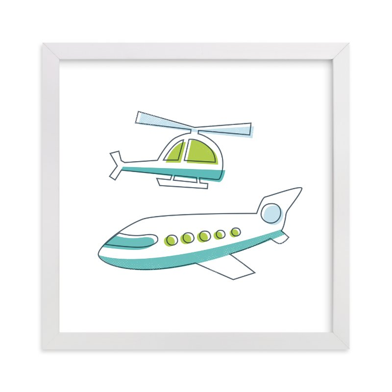 """""""Fly It"""" - Art Print by Jessie Steury in beautiful frame options and a variety of sizes."""