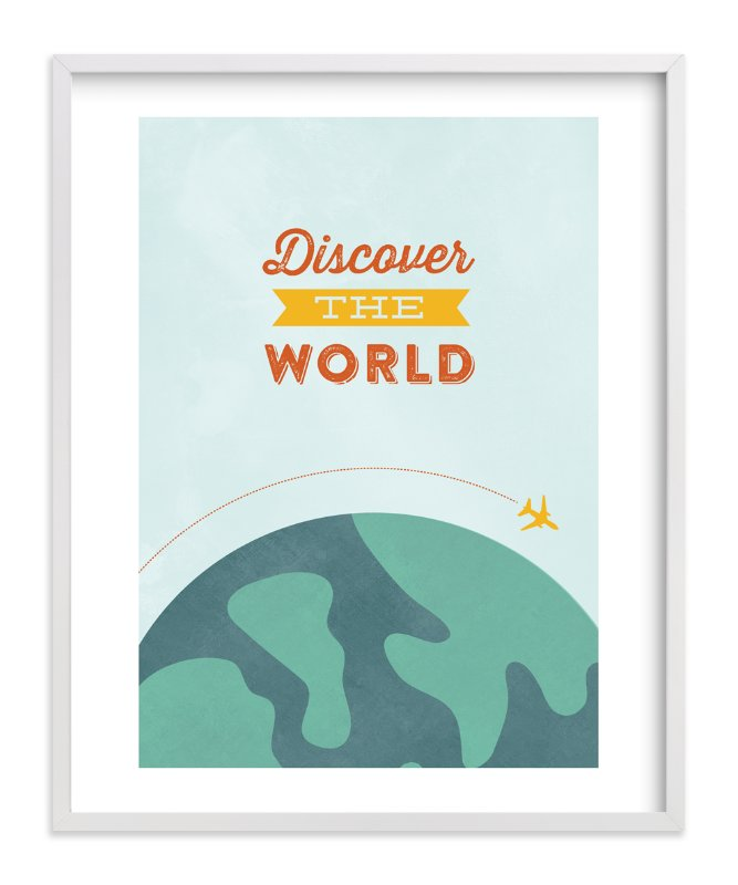 """""""What goes around"""" - Art Print by Annie Holmquist in beautiful frame options and a variety of sizes."""