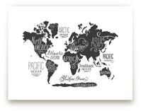 Whimsical World Map