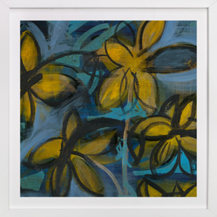 Shining Flowers Series 1 Self-Launch Children's Art Print