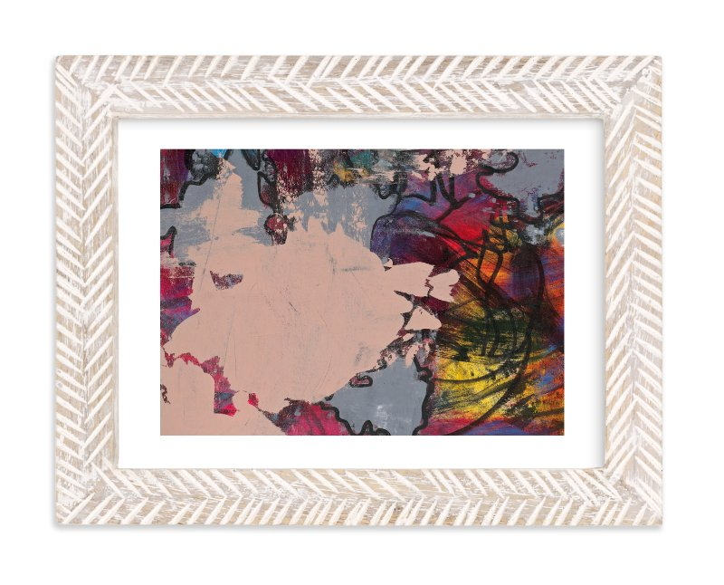 """Upstart Series 4"" - Art Print by Angela Simeone in beautiful frame options and a variety of sizes."