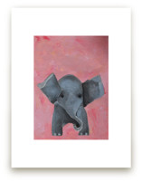 Ellie the Elephant  by Art by Megan