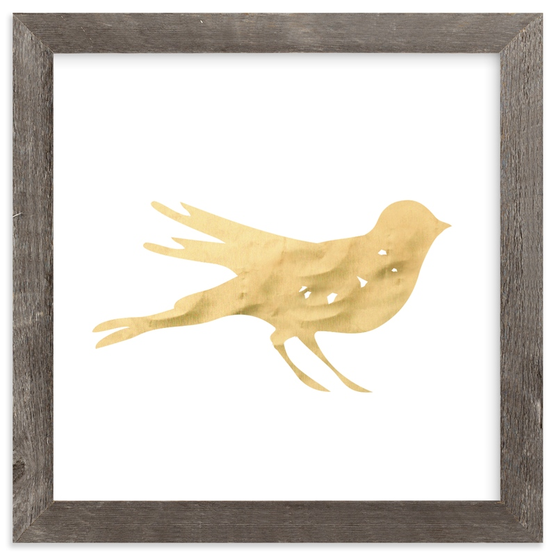 """""""Here Birdie Birdie"""" - Art Print by rose lindo in beautiful frame options and a variety of sizes."""