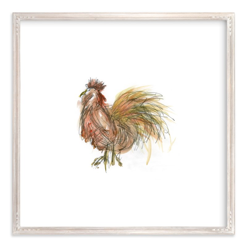 """""""Coop Cooper"""" - Art Print by Mande in beautiful frame options and a variety of sizes."""