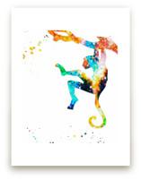 Zippy Monkey  Wall Art Prints