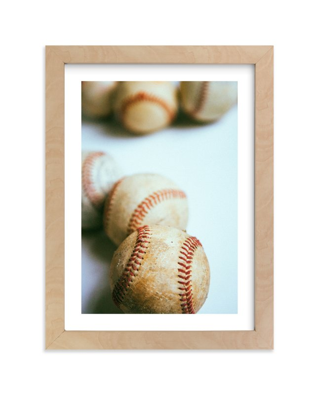 """""""no hitter"""" - Art Print by Morgan Kendall in beautiful frame options and a variety of sizes."""