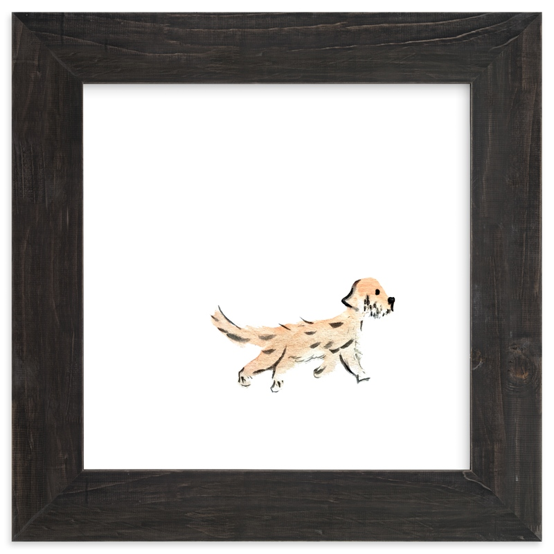 """out for a walk"" - Art Print by Inkblot Paper in beautiful frame options and a variety of sizes."