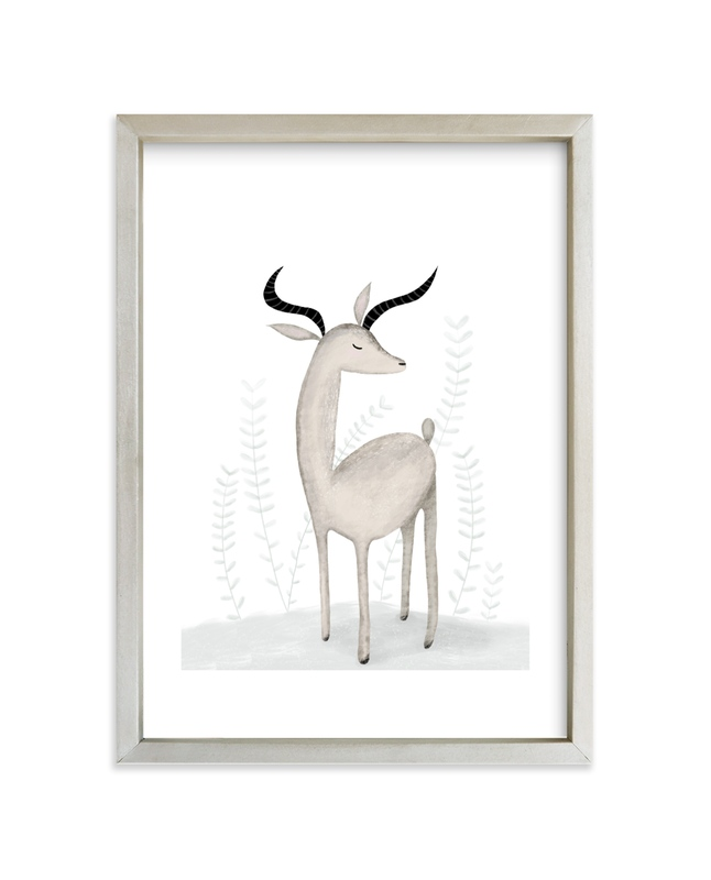 """""""In a daydream"""" - Art Print by Maja Cunningham in beautiful frame options and a variety of sizes."""